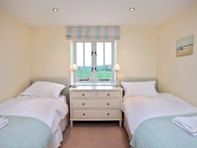 The Cow Byre Twin Bedroom