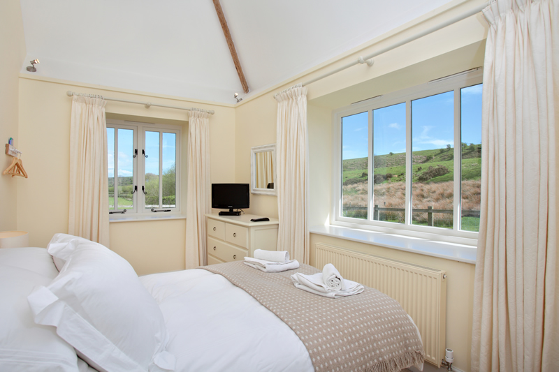 The Cow Byre Downstairs Double Bedroom