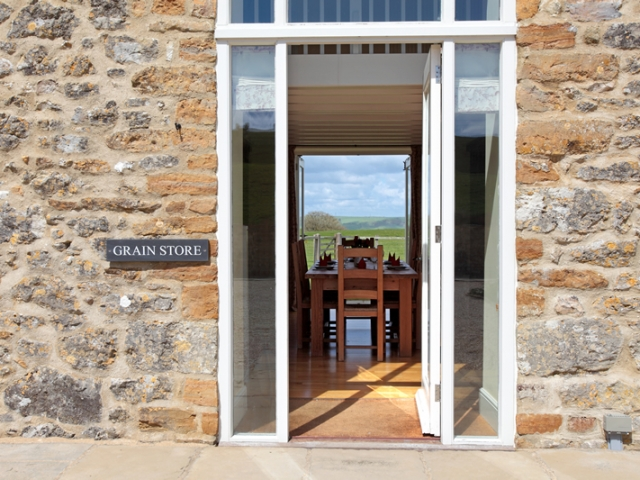 The Grain Store Entrance