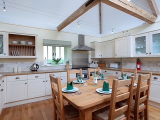 The Cow Byre Kitchen and Dining Area