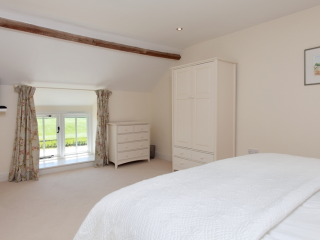 Clayhanger Lodge Superking Upstairs Bedroom